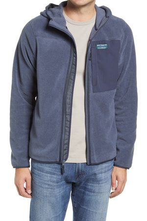 L.L.BEAN Men's Mountain Classic Recycled Fleece Hooded Jacket