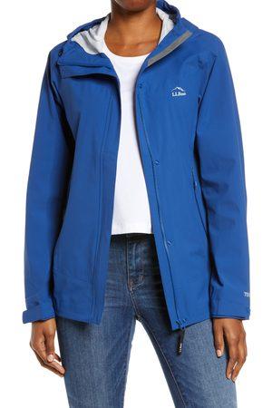 L.L.BEAN Women's Cresta Stretch Waterproof Hooded Rain Jacket