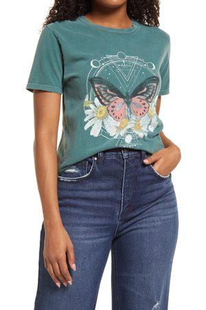 BDG Urban Outfitters Women's Butterfly Boyfriend Graphic Tee