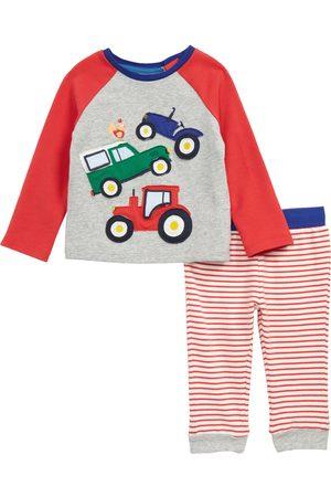 Boden Infant Boy's Fun Jersey Applique Raglan Sleeve Top & Pants Set