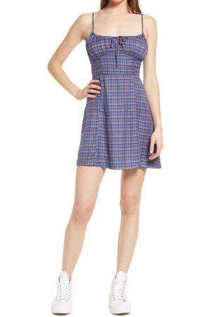 BDG Urban Outfitters Women's Kamaryn Tie Front Minidress
