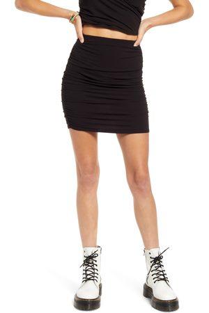 BP. Women's Ruched Miniskirt