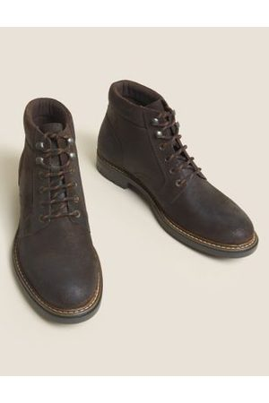 Marks & Spencer Men Casual Shoes - Leather Casual Boots
