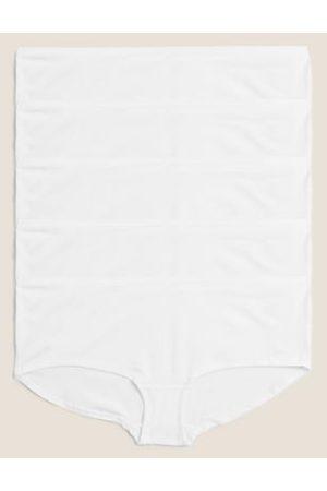 Marks & Spencer 5pk No VPL Cotton Modal Shorts