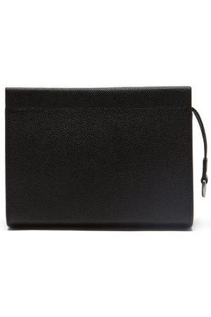 Maison Margiela Men Luggage - Four-stitches Grained-leather Pouch - Mens