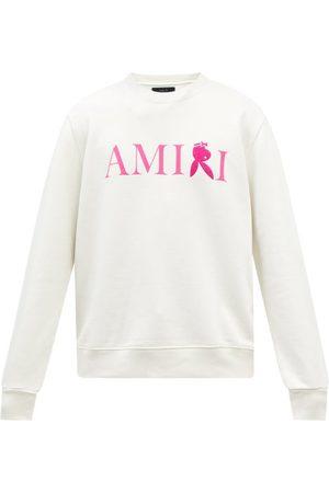 AMIRI Men Sports Hoodies - X Playboy Logo-embroidered Cotton Sweatshirt - Mens - Multi