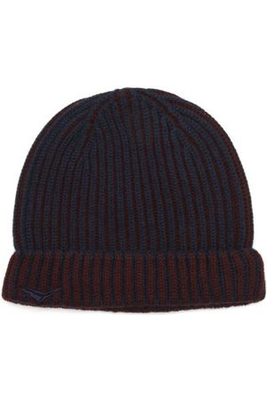 Sease Dinghy Ribbed-cashmere Beanie Hat - Mens - Navy