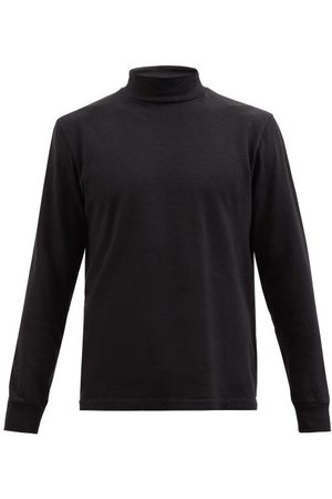 OUR LEGACY Men Long sleeves - Base Organic Cotton-blend Long-sleeved Top - Mens