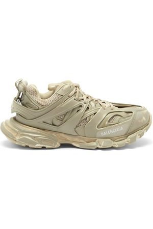 Balenciaga Track Panelled Trainers - Mens - Light