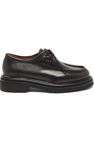 LEGRES Women Formal Shoes - Lace-up Leather Derby Shoes - Womens