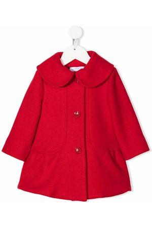 MONNALISA Single-breasted virgin wool coat
