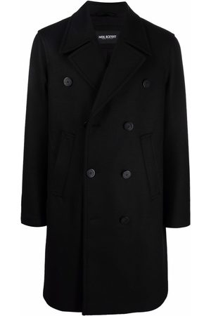 Neil Barrett Notched-lapels double-breasted coat
