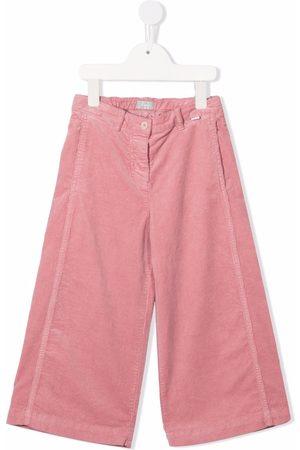 Il gufo Girls Wide Leg Pants - Wide-leg corduroy trousers