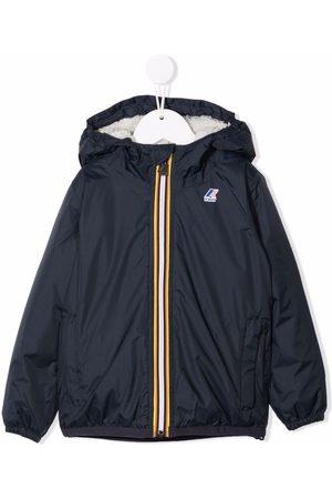 K-WAY R&D Boys Bomber Jackets - Chest logo-print jacket