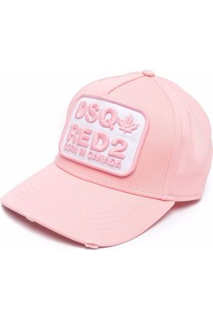 Dsquared2 Men Caps - Logo-embroidered baseball cap