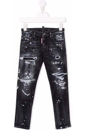 Dsquared2 Ripped-detail jeans