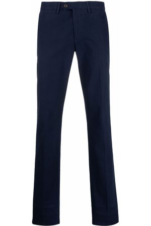 CANALI Men Formal Pants - Cropped tailored trousers