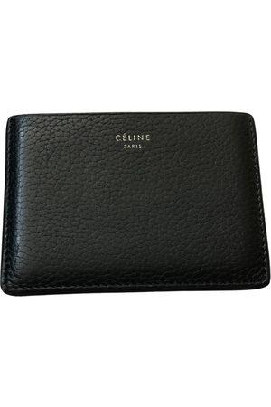 Céline Leather card wallet