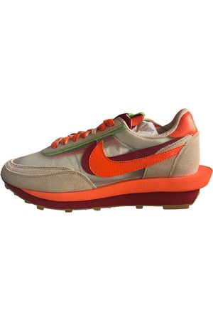 Nike LDV Waffle leather low trainers