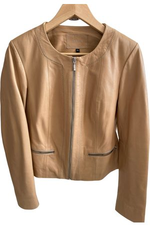 Caroll Leather short vest