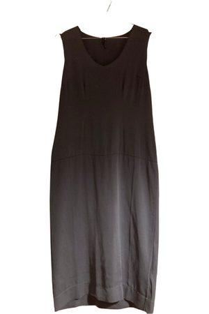 Manila Grace Silk mid-length dress