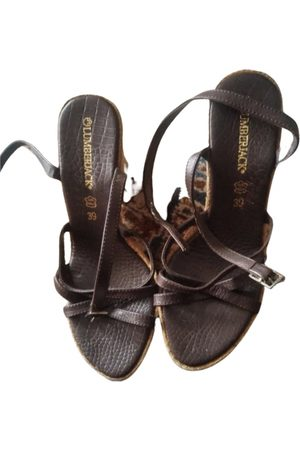 Lumberjack Leather sandals