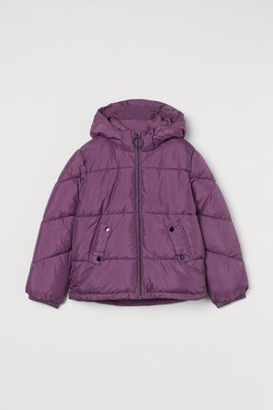 H&M Kids Puffer Jackets - Water-repellent Hooded Jacket