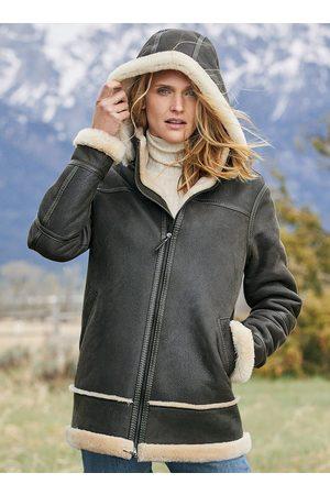 Peruvian Connection Women Coats - Shearling Kodiak Coat