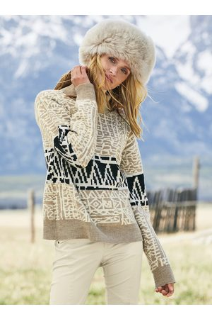 Peruvian Connection Sweaters - Bamali Baby Alpaca T-Neck Pullover