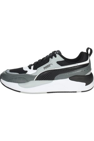 PUMA Sneakers Men Grey Pelle Sintetico/tessuto