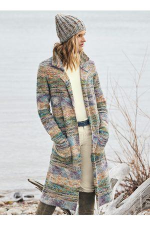 Peruvian Connection Women Coats - Borealis Knit Coat