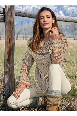 Peruvian Connection Sweaters - Merrivale Baby Alpaca Pullover