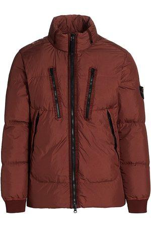 Stone Island Down Multi-Zip Puffer Jacket