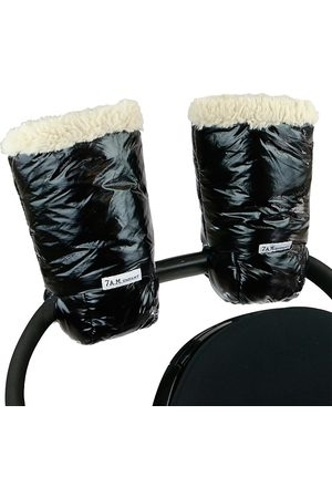 7AM Warmmuffs Plush Attachable Stroller Gloves
