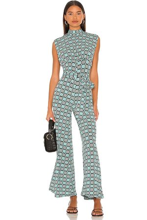 Free People Women Jumpsuits - Vibe Check Jumpsuit in Mint.