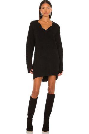 NBD Evie Distressed Knit Mini Dress in .