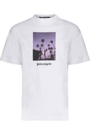 Palm Angels Men T-shirts - Stars And Palms t-shirt
