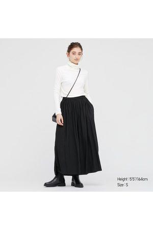 UNIQLO Women's HEATTECH Fleece Turtleneck Long-Sleeve T-Shirt, , XXS
