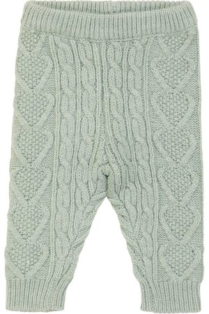 Louise Misha Baby Athedor cable-knit pants