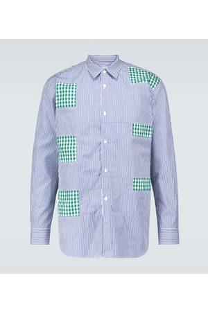 Comme des Garçons Men Long sleeves - Striped long-sleeve shirt