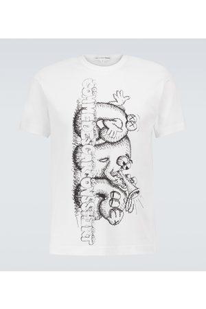 Comme des Garçons Comme des Garçons SHIRT x KAWS short-sleeved cotton T-shirt