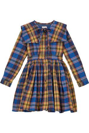 MORLEY Odille Melton checked cotton dress