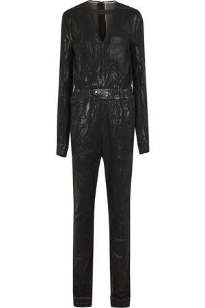 Rick Owens DRKSHDW Eclipse coated denim jumpsuit
