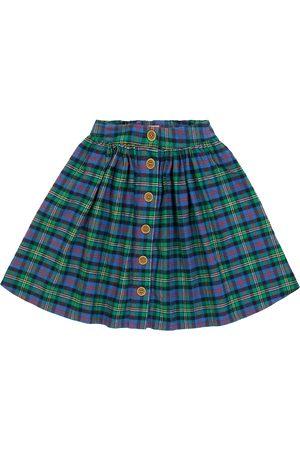 MORLEY Mistral checked cotton skirt
