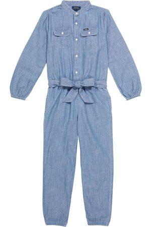 Ralph Lauren Cotton chambray jumpsuit