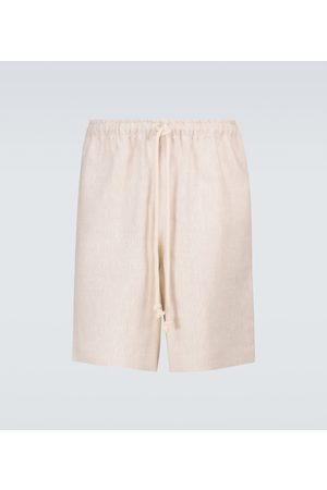 COMMAS Walk linen shorts