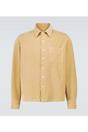 ERL Long-sleeved corduroy shirt