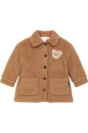 Palm Angels Fleece Jackets - Teddy coat