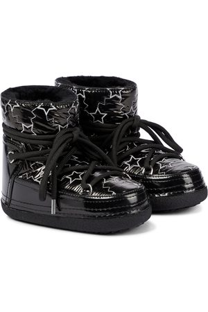 INUIKII Star shearling-lined faux leather snow boots
