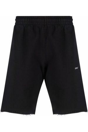 OFF-WHITE Logo short sweatpants